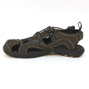 L.L. Bean Boys Brown Sport Sandals Adjustable